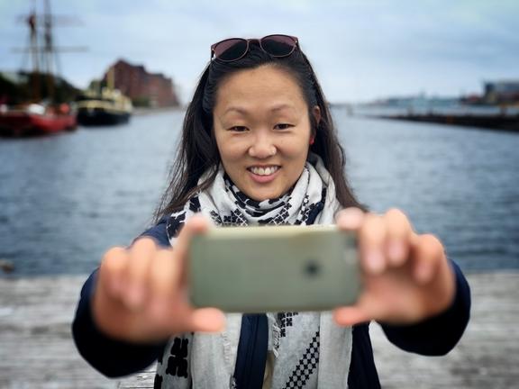 Freelancejournalist Astrid Bigum